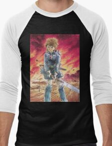 Nausicaä of the Valley of the Wind Men's Baseball ¾ T-Shirt