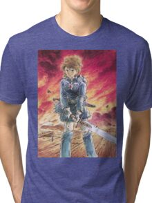Nausicaä of the Valley of the Wind Tri-blend T-Shirt