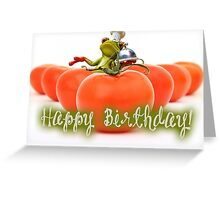 Happy Birthday - Cook 02 Greeting Card