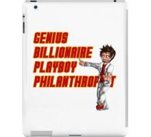 Genius, Billionaire, Playboy Philanthropist iPad Case/Skin
