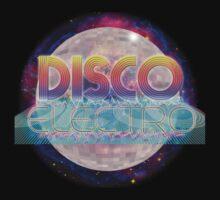 Electro Disco Ball Kids Tee