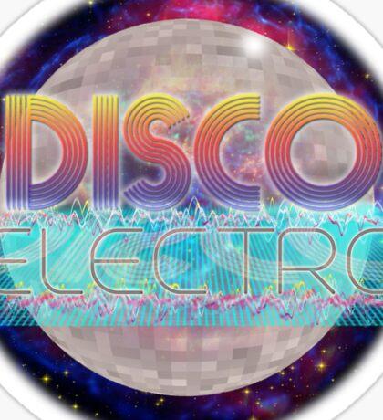 Electro Disco Ball Sticker