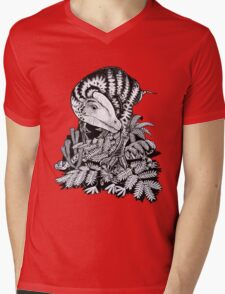 Guanlong Mens V-Neck T-Shirt
