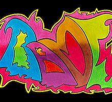 BAMF graffiti style by bamfchicks