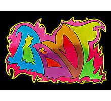 BAMF graffiti style Photographic Print