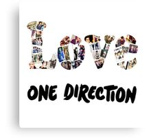 Love One Direction Canvas Print