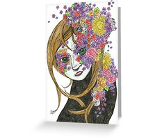 Flowerly Greeting Card