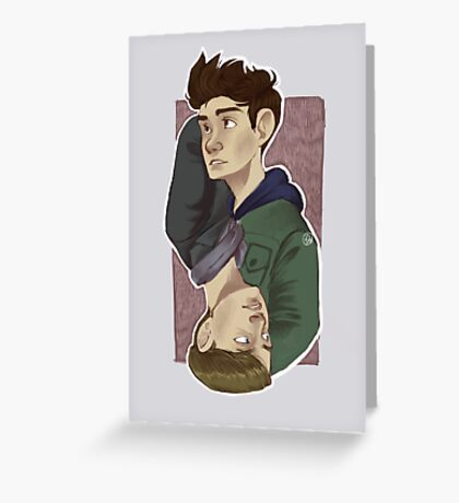 Parallels Greeting Card