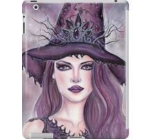 Contessa fantasy witch art by Renee Lavoie iPad Case/Skin