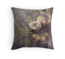 Rollo the Red Panda Throw Pillow