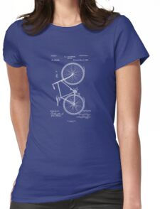 bicycle Womens Fitted T-Shirt