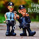 Happy Birthday - Policeman / Policewoman by garigots