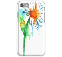 Daisy Watercolor iPhone Case/Skin