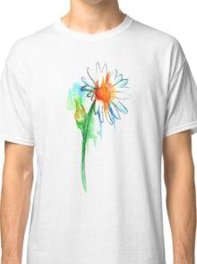 Daisy Watercolor Classic T-Shirt
