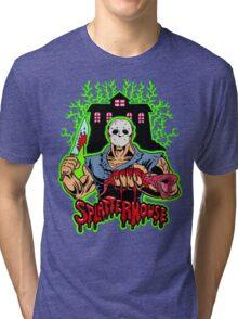 House of Splatter (Green Edition) Tri-blend T-Shirt