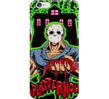 House of Splatter (Green Edition) iPhone Case/Skin