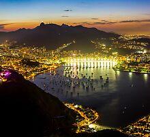 The City of God, Rio De Janeiro by Cherrybom