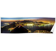 The City of God, Rio De Janeiro Poster
