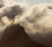 Redeemer in the Clouds, Rio De Janeiro, Brazil by Cherrybom