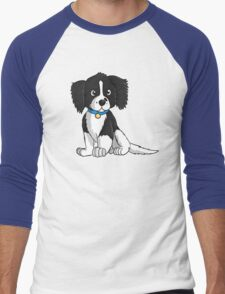 English Springer Spaniel Puppy Men's Baseball ¾ T-Shirt