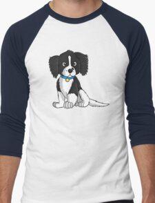 English Springer Spaniel Puppy Men's Baseball ¾ T-Shirt