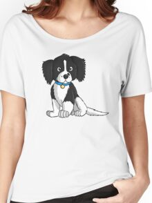 English Springer Spaniel Puppy Women's Relaxed Fit T-Shirt