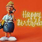Happy Birthday - Secretary / Receptionist by garigots