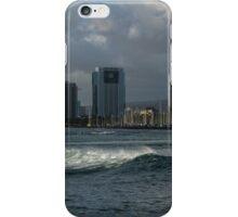 Sailing Into Honolulu, Hawaii iPhone Case/Skin