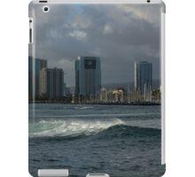 Sailing Into Honolulu, Hawaii iPad Case/Skin