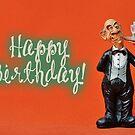 Happy Birthday - Waiter by garigots