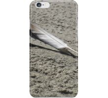 The Lone Feather  iPhone Case/Skin