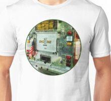 Back Of Fire Truck Closeup Unisex T-Shirt