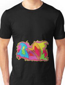BAMF graffiti style Unisex T-Shirt