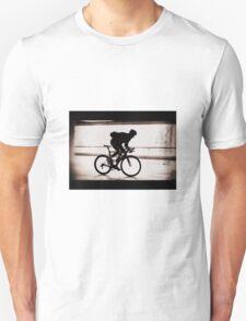 Cyclist silhouette Unisex T-Shirt