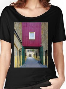 Lane way, and Bicycle Women's Relaxed Fit T-Shirt