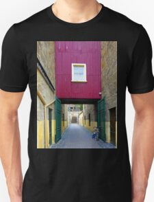 Lane way, and Bicycle Unisex T-Shirt