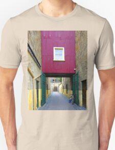 Lane way, and Bicycle Unisex T-Shirt