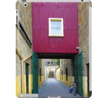 Lane way, and Bicycle iPad Case/Skin