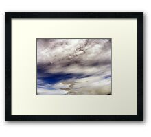 Storm brewing at Culloden Framed Print