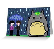 8 bit Dan, Phil and Tororo <3 Greeting Card
