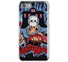 House of Splatter (Blue Edition) iPhone Case/Skin