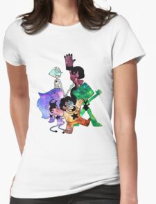 Crystal Gems - Galaxy Edition Womens Fitted T-Shirt