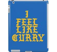 I feel like Curry iPad Case/Skin