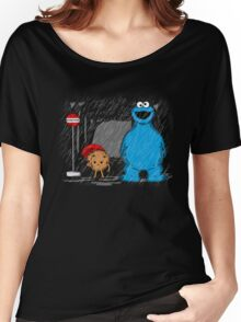 My neighbor cookie monster Women's Relaxed Fit T-Shirt
