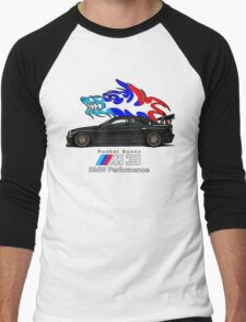 BMW E36 M3 Coupe - Rocket Bunny / Wolf Tribal (Black) T-Shirt