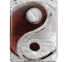 Yin-Yang Transparency iPad Case/Skin