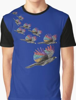 Fantasy bird - Fantasievogel Graphic T-Shirt