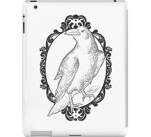 Quoth the Raven, Nevermore - White version iPad Case/Skin