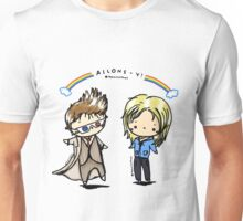allons-y! rose and doctor Unisex T-Shirt