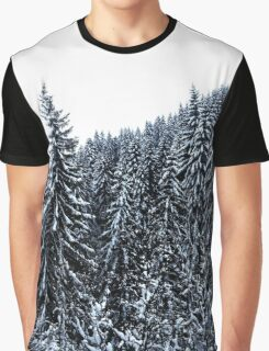 Snow Trees Graphic T-Shirt
